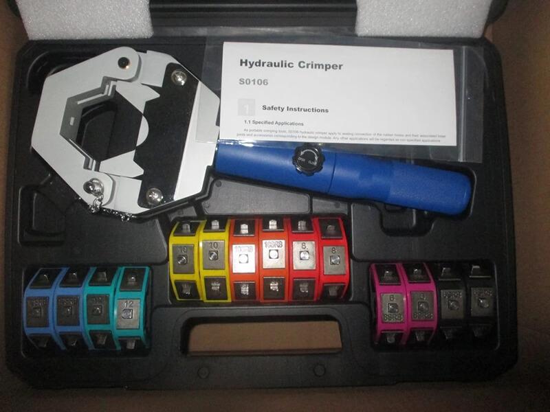 Handheld Manual Hydraulic Hose Crimping Tool (1)