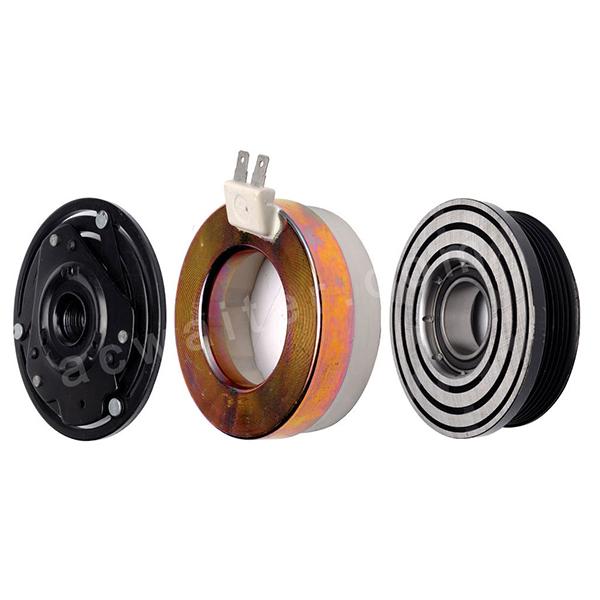 V5 compressor magnetic clutch 6PK 131.5MM 12V