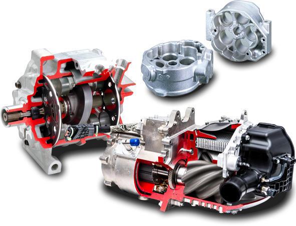 Automotive AC compressor 1