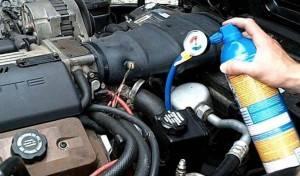 The abnormal exhaust temperature and pressure of auto ac compressor